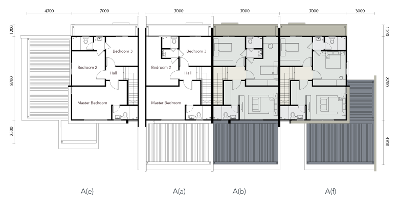 Serene Shangrila Two Storey Terrace House First Floor Plan