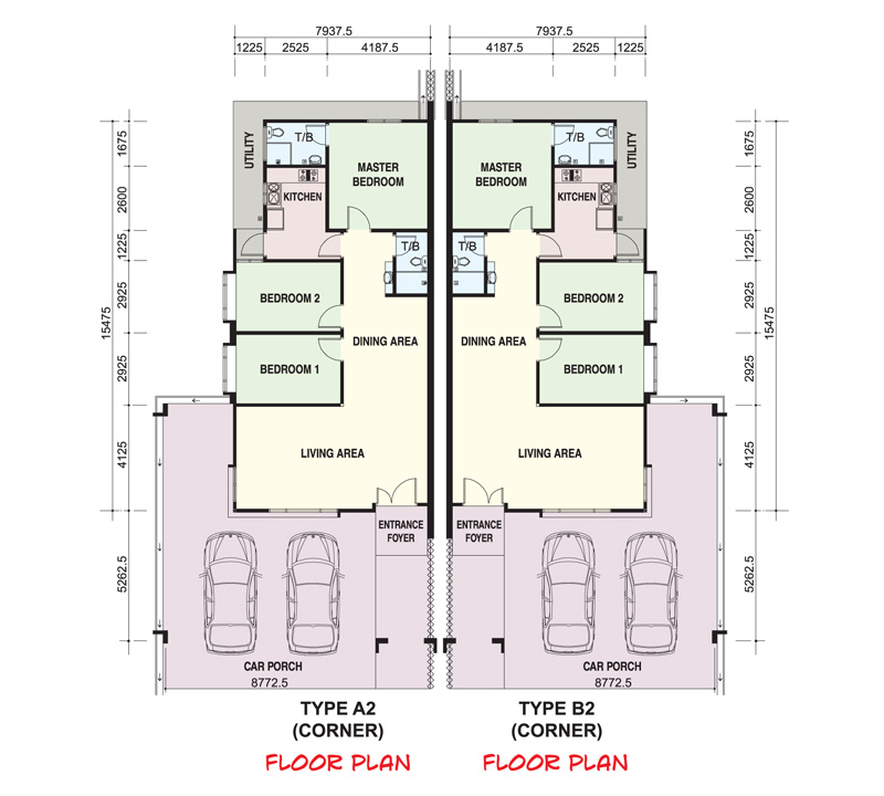 Single Storey House Floor Plan Malaysia Home Design And